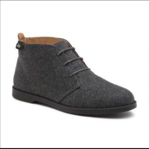 NWOB Bass Flex Step Elyse Grey Chukka Ankle Boot